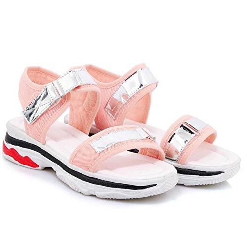5 Sandali Pink Donne Comodo TAOFFEN All'aperto wT7vq