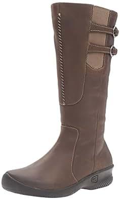 KEEN Women's Baby Bern Boot, Oatmeal, 5 M US