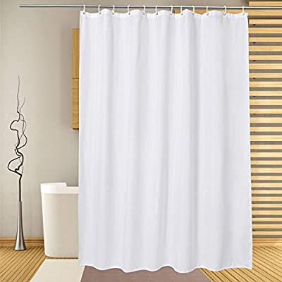 Amazon Com Extra Long Shower Curtain Liner 72 X 86 Inch White