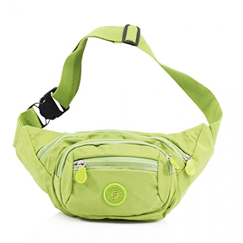 Wallet Green Passport Bag Bum Travel Money Waist Pouch Pack Belt Unisex Festival Fanny Ticket wZX61xqSS