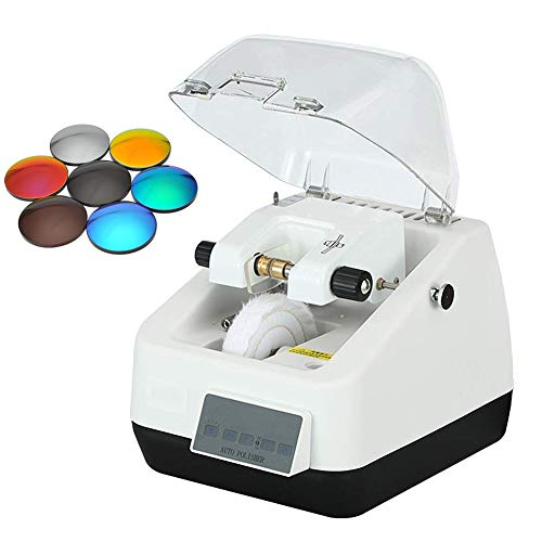 Glasses Processing Equipment Eyeglass Lens Edger Polisher Timing Operation is Convenient and Stable Performance Can Reduce Dust Pollution
