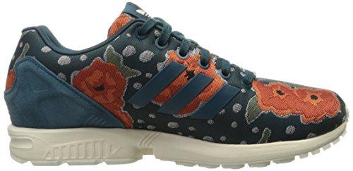 adidas Originals Frauen ZX Flux W Schnür Mode Sneaker Dienstprogramm Grün F16 / Dienstprogramm Grün F16 / Kreide 2