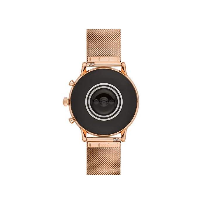 417s7Whf6RL Los smartwatches que funcionan con la tecnología WearOS by Google funcionan con teléfonos iPhone1 y Android Funciona varios días con una carga de batería ampliada Seguimiento de actividad y frecuencia cardíaca, GPS incorporado para seguimiento de distancias, diseño apto para nadar