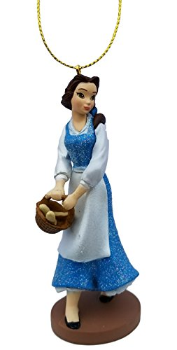 Belle (Princess) Figurine Holiday Christmas Tree Ornament - Limited Availability - Newest Design