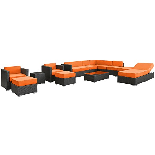 modway-fusion-12-piece-outdoor-rattan-espresso-with-orange-cushions