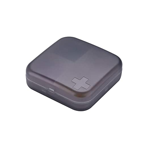Caja portable de la píldora pequeño envase de pastillas para ...