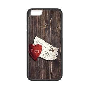 iPhone 6 Plus 5.5 Inch Cell Phone Case Black I Love You Mom VIU154296