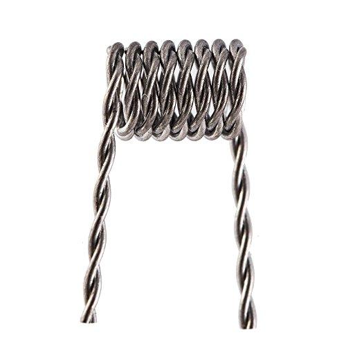 E-quip the coil kit (10) pre-built .5 ohm 26 gauge twisted coils (E Coil compare prices)