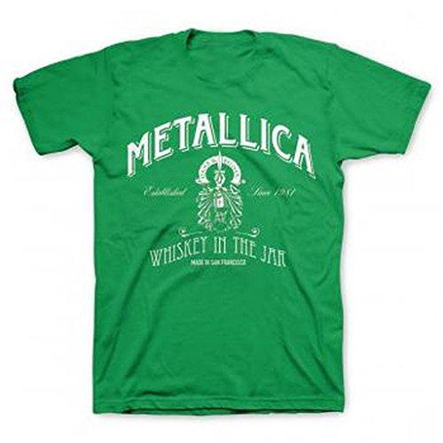 Metallica St. Patrick's Green Whiskey T-Shirt
