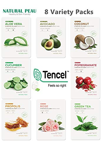 [8 Variety Packs] Natural Peau Hydrating Collagen...