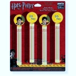 Harry Potter Bubble Blowers Party Favors 4 to Pack