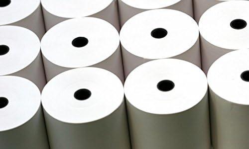 Retail Gurus 76x 76mm Kassenrollen, 3-schichtige kohlenstofffreies Papier, Box mit 20Stück