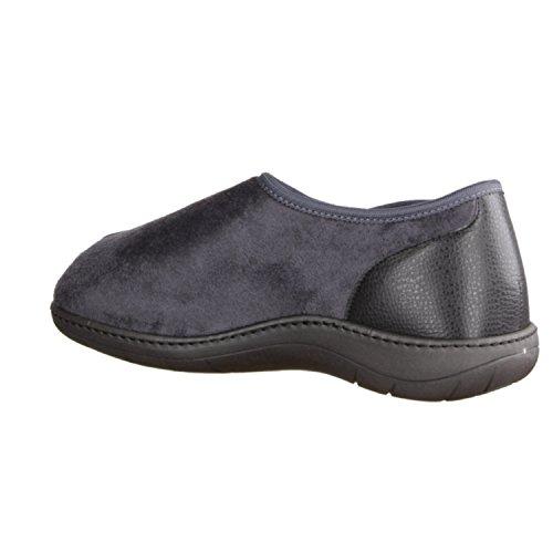 femme hÜttenschuhe gris pour bleu chaussons pigeon Liromed maison 820 ZqZI0