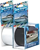 Boat Striping Color: White, Size: 1''
