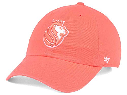'47 Sacramento Kings Orange Clean Up Adjustable Baseball Cap - NBA, One Size, Relaxed Fit Dad Hat
