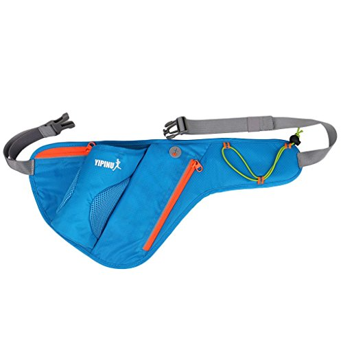 AUWU YIPINU Women Men Outdoor Sports Kettle Waist Bag Adjustable Strap Cycling Running Hiking Bags Chest Pack Shoulder Pouch
