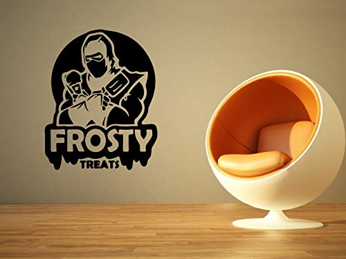 Vinyl Sticker Frosty Treats Videogame Game Cartoon Kids Room Mural Decal Wall Art Decor EH2162 ()