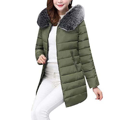 Coat Puffer RkBaoye Slim AS2 Long Jacket Classic Mid Women Down Fit Oversized qwFwvIZ