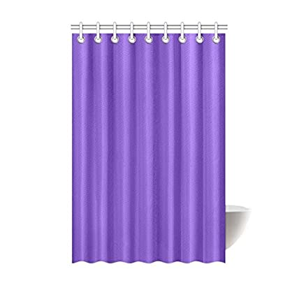 Image Unavailable Not Available For Color Shower Curtain Modern Minimalist Solid Purple