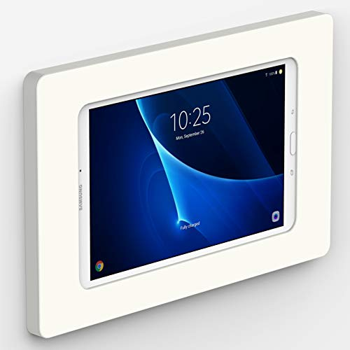 VidaMount White On-Wall Tablet Mount Compatible with Samsung Galaxy Tab A 10.1 (2016)