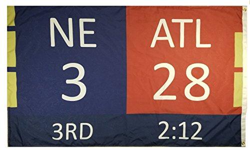 New England Patriots Superbowl Comeback Flag