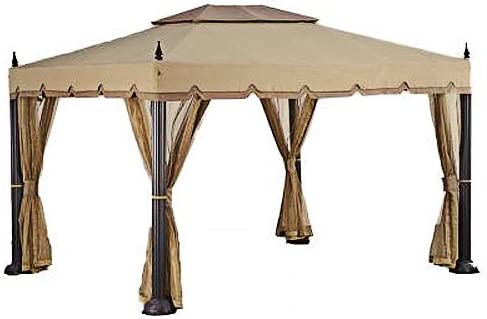 Garden Winds Mediterra 10x12 Replacement Canopy Top Cover - RipLock 500