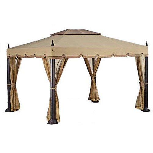 Garden Winds Mediterra Replacement Canopy, RipLock 350