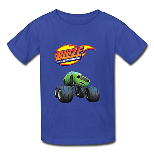 Flycro Kid's Cartoon Blaze And The Monster Machines T-shirts Size S (Dead Space Game Merchandise)