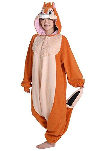 Dale Kigurumi - Adult Halloween Costume Pajama (Chip & Dale Cosplay) (Chips Halloween Costume)
