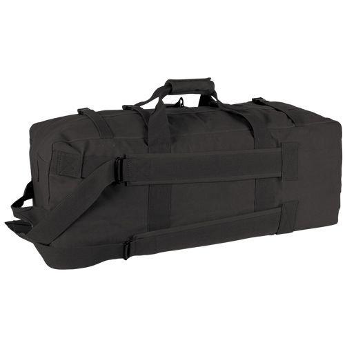 Fox Outdoor Military-Style Gen II Two-Strap Duffel Bag, Black