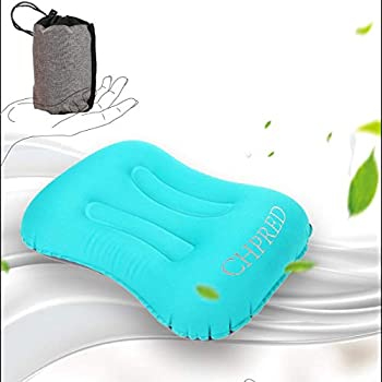 Amazon.com: Inflable Camping almohadas Aire Almohada de ...