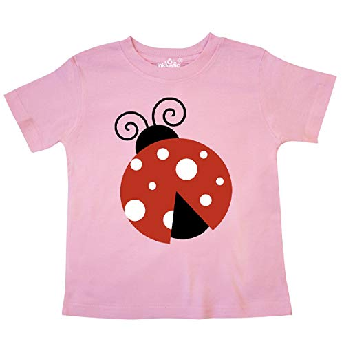 - inktastic - Ladybug, Ladybird, Lady Beetle - Red Toddler T-Shirt 4T Pink 2068c