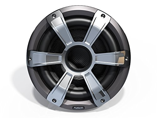 Driver Marine Subwoofer (Fusion Entertainment SG-SL10SPC 450W Sports Marine Subwoofer LED, Chrome, 10