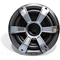 Fusion Entertainment SG-SL10SPC 450W Sports Marine Subwoofer with LED, Chrome, 10