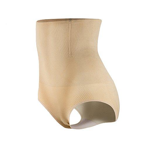 KSKshape Hi-waist Shapewear Seamless Tummy Control Body Shaper for women,Beige,Tag XL/2XL1=Size Chart L(Fits Waist 29-34inch) (Best Shapewear For Tummy Control Australia)