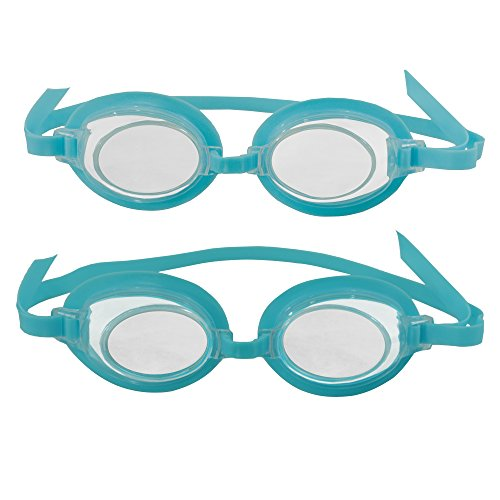 Blue Wave 3D Action Kids Swim Goggles (2 Pack)