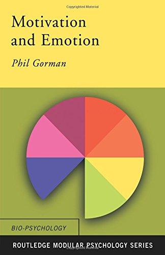 Motivation and Emotion (Routledge Modular Psychology): Textbook (Routledge Modular Psychology)