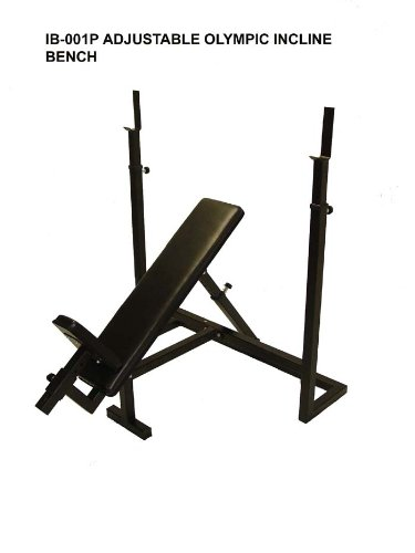 Institutional Olympic Incline Bench & 300 Lb Gray Olympic Set by Ader Sporting Goods