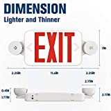 Freelicht 2 Pack Exit Sign with Emergency