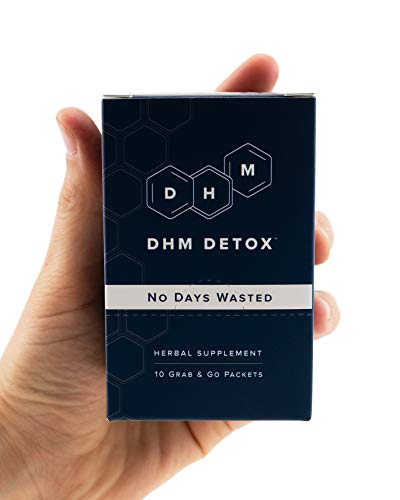 DHM Detox® – No Days Wasted® – Dihydromyricetin (DHM Supplement), Milk Thistle, Prickly Pear, B Vitamins, Hydration…