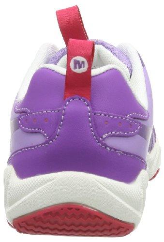 Merrell AQUATERRA SPRITE KIDS - Zapatos de Aqua de material sintético niña Violeta - Violett (DEWBERRY)