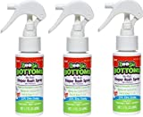 Boogie Bottoms No-Rub Diaper Rash Spray (Pack of 3)