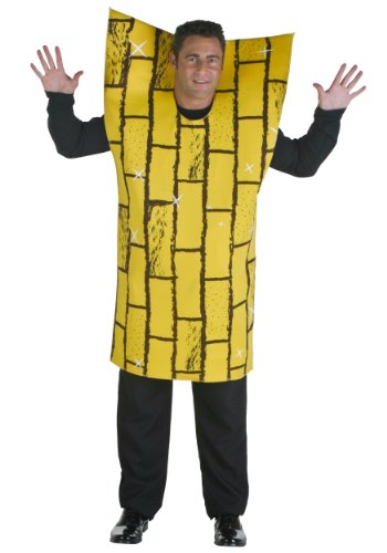 Yellow Brick Road Costumes (Adult Yellow Brick Road Costume Standard)