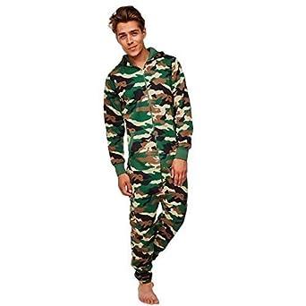 Amaci  Sons Herren Overall Jumpsuit Jogging Cargo-Style Onesie  Trainingsanzug Camouflage 3006 fec6fff7c1