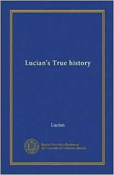 Book Lucian's True history