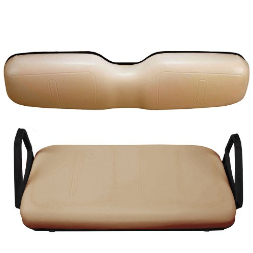 - EZGO 750320PKG Front Seat Cover Package, Tan