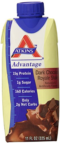 ATKINS Advantage Ready To Drink Shake (Tetra-Can) Dark Ch...