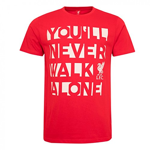 FC Liverpool You´ll never Walk alone T-Shirt (red, M)