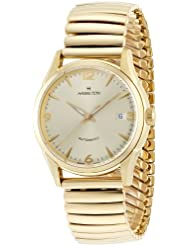 Hamilton Mens H38435221 Timeless Class Goldtone Dial Watch
