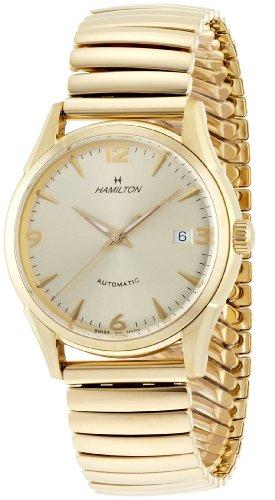 Hamilton Men's H38435221 Timeless Class Goldtone Dial Watch